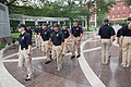2015 Law Enforcement Explorers Conference marching at memorial.jpg