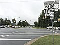 2016-09-29 16 54 07 View north along U.S. Route 15 Business and U.S. Route 29 Business (Lee Highway) at the east end of U.S. Route 211 and U.S. Route 211 Business (Blackwell Road) in Warrenton, Fauquier County, Virginia.jpg