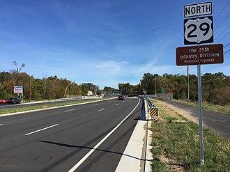 Centreville, Virginia - US 29 in Centreville