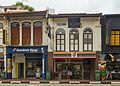 2016 Singapur, Kampong Glam, Ulica Arabska, Domy-sklepy (01).jpg