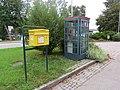 2017-10-05 (149) Post box and telephone booth at Bahnhof Enns.jpg
