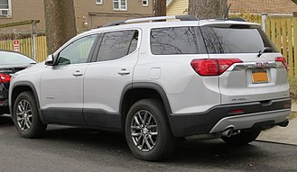 GMC Acadia - Rear view