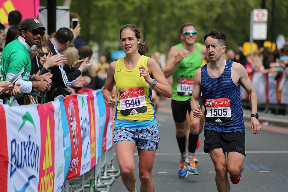 2017 London Marathon - Fanni Gyurko & Luke Reddy.jpg