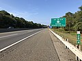 2018-10-02 09 56 48 View south along New Jersey State Route 700 (New Jersey Turnpike) north of Exit 3 (New Jersey Route 168, Camden, Atlantic City Expressway) in Lawnside, Camden County, New Jersey.jpg