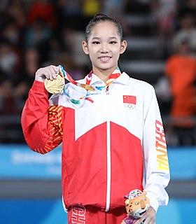 Tang Xijing Chinese artistic gymnast