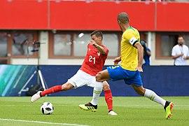 20180610 FIFA Friendly Match Austria vs. Brazil Lainer Miranda 850 0056.jpg