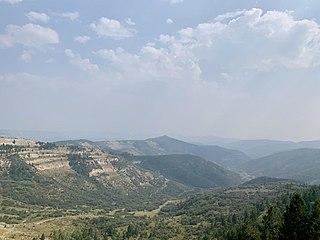 Douglas Pass Mountain pass in western Colorado, US