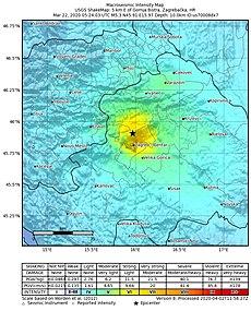 Potres U Zagrebu 2020 Wikipedija