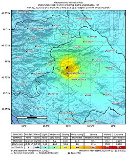 2020 Zagreb Earthquake Wikipedia