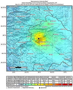 2020 Zagreb Earthquake Wikiwand