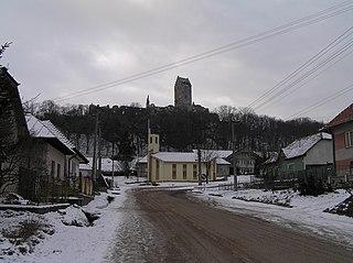 Podhradie, Topoľčany District municipality of Slovakia