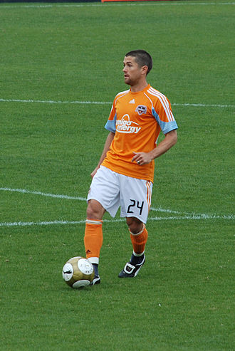 Wade Barrett (soccer) - Wade Barrett during his playing career for the Houston Dynamo.