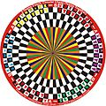 2 Team 3 Each Circular Chess (Teams Alternate) variant in 6 Players Circular Chess invented by Hridayeshwar Singh Bhati.JPG