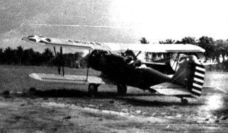 2d Air Refueling Squadron - 2d Observation Squadron Thomas-Morse O-19, Nichols Field, Luzon, Philippine Islands, about 1932