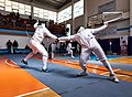 2nd Leonidas Pirgos Fencing Tournament. Double touch.jpg