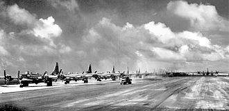 39th Air Base Wing - 39th BG B-29s at North Field Guam – Summer 1945