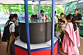 3D Zoetrope With Visitors - NCSM Pavilion - CCSCOY 14th National Exhibition - Sodepur - Kolkata 2010-09-06 7464.JPG