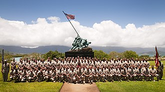 3rd Battalion, 3rd Marines - Command and Staff of 3rd Battalion, 3rd Marines in 2010