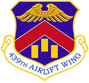 Westover Air Reserve Base - Image: 439th Airlift Wing