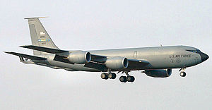 465th Air Refueling Squadron Boeing KC-135A-BN Stratotanker 58-0121