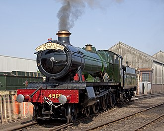 GWR 4900 Class 4965 Rood Ashton Hall - 4965 at Tyseley