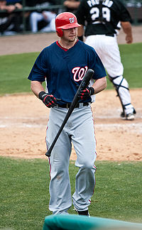 Chris Duncan with the Washington Nationals