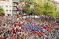 4 de 8 amb l'agulla carregat Castellers de Barcelona (21937141066).jpg