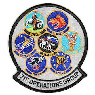 71st Operations Group - Gaggle patch of 71st Operations Group squadrons