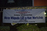 8th Waray Wikipedia Edit-a-thon 30.JPG
