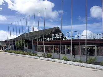 Bonriki International Airport - Bonriki Airport in January 2016