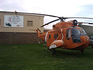 American Helicopter Museum - Image: AHMEC sign