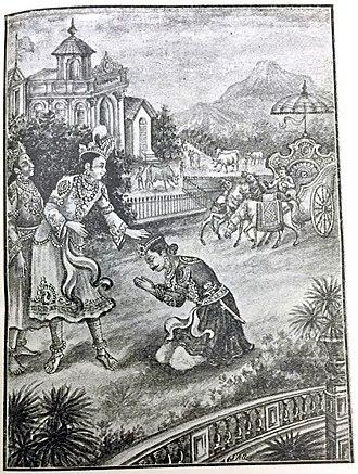 Akrura - AMBASSADOR AKRURA MEETING KRISHNA AT GOKULAM WITH A MESSAGE FROM KAMSA