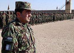 ANA graduation at Kandahar in January 2011