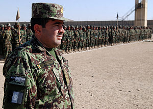 Kandahar Province - Afghan National Army at the Regional Military Training Center (RMTC) in 2011.
