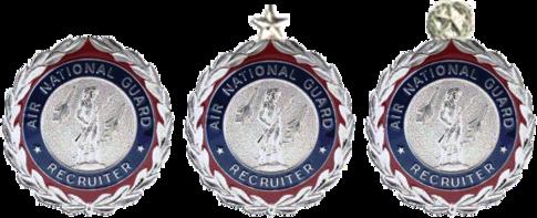ANG Recruiting Service Badges