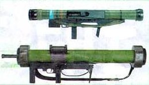 Armbrust - Comparing the Armbrust (top) and MATADOR (bottom)