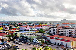 Centre of Oranjestad in 2011