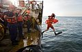 A 'man overboard' drill on the USCGC Willow during Operation Nanook 2011.jpg