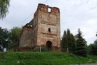 A 279 60 z 7.03.1960 Ruiny kościoła p. w. św. Jadwigi Ziemięcice Zbrosławice (2).JPG