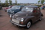 A matter of Minor importance (1) On 28 April 2007 the NI Morris Minor Owners Club organised its annual North Down run. Four of the vehicles involved are seen, close to Bangor marina, before the start of the run.
