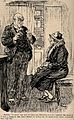 A patient telling her doctor that if she won a sweepstake it Wellcome V0011545.jpg