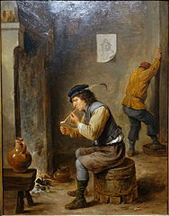 Smoker by a Hearth