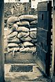 A wall of sandbags at the bunker.jpg