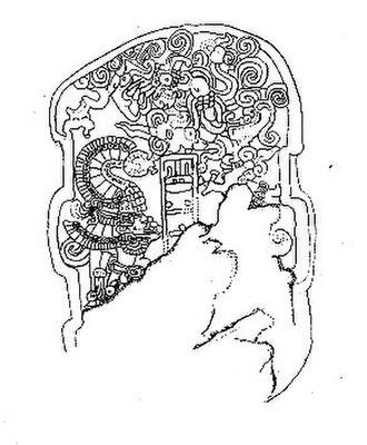 Mesoamerican Long Count calendar - Image: Abaj Takalik Stela 2