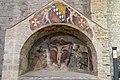 Abbazia Santissima Trinità Venosa Affresco navata destra.jpg