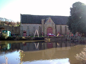 Abbotsbury - Abbotsbury Abbey tithe barn
