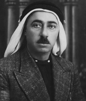 Abd al-Rahim al-Hajj Muhammad - Portrait, early 1937