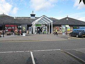 Exeter Service Station Car Park