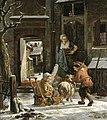 Abraham van Strij - A Winter Scene - WGA21893.jpg