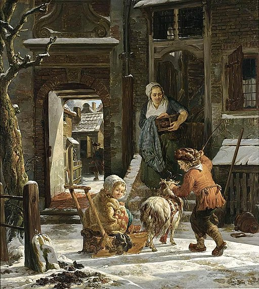 Abraham van Strij - A Winter Scene - WGA21893